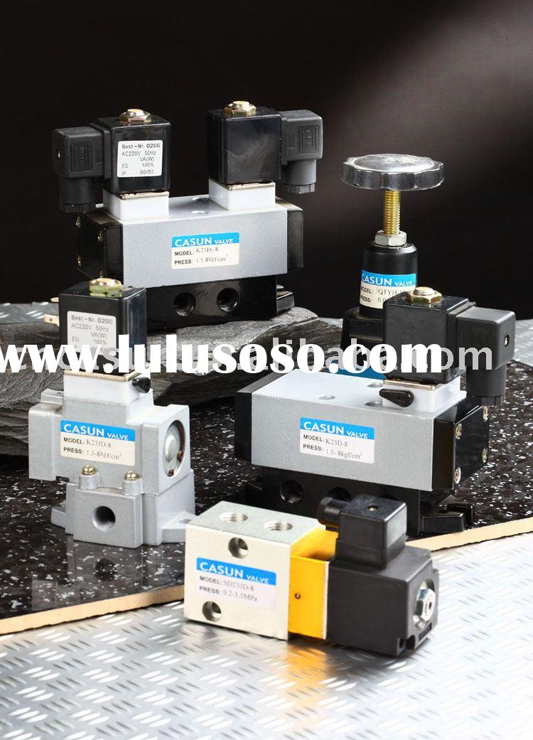 solenoid valve high pressure solenoid valve cut-off valve high pressure regulator pneumatic element