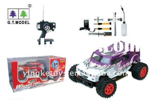 super power 1:14 nitro rc car with tools kit