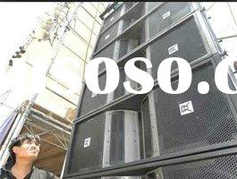 technical pro speakers line array design manufacturing