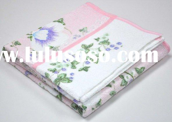 terry cotton velet towel blanket