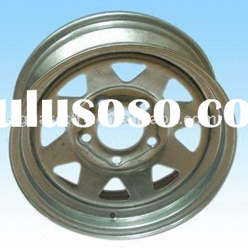 trailer wheel and trailer tire