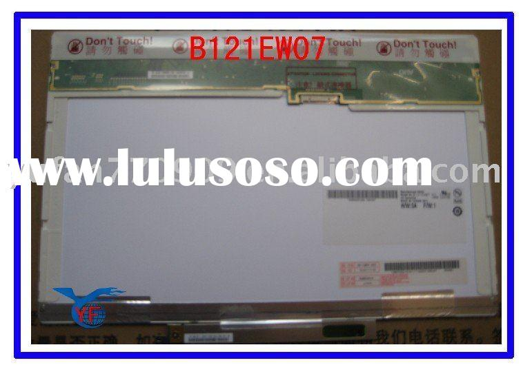 used laptop LCD Screen Panel for B121EW07 12.1 inch LED backlight