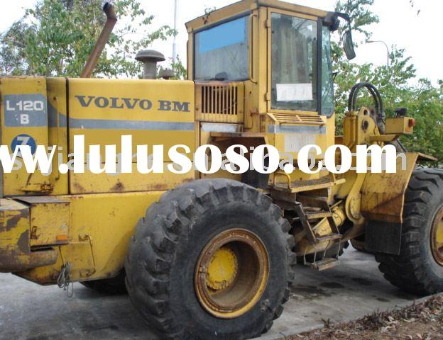 used wheel loader,used volvo L120,used construction machinery