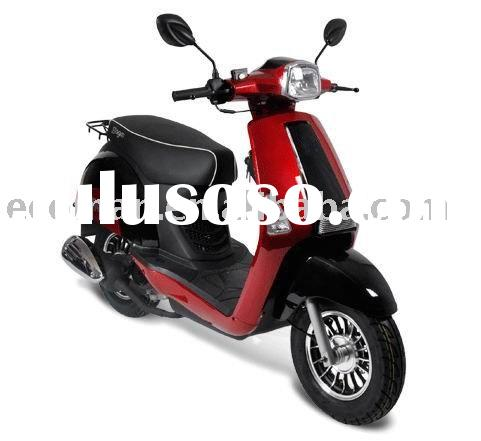 vespa style 50cc retro gas scooter with EEC for two persons