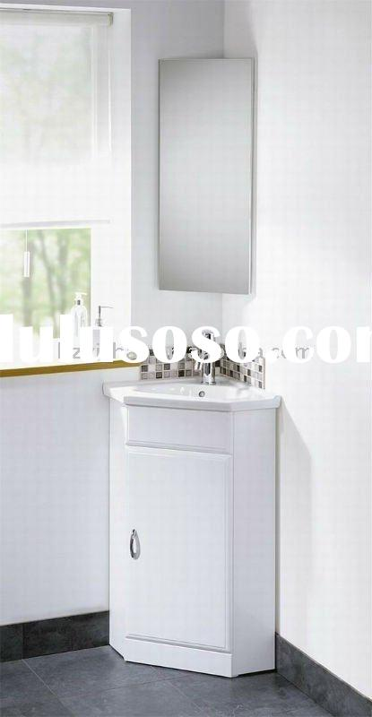 wall mounted corner bathroom mirror cabinet(SYMDF50)