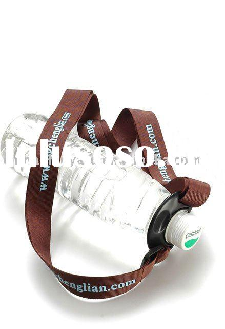 water bottle holder neck strap