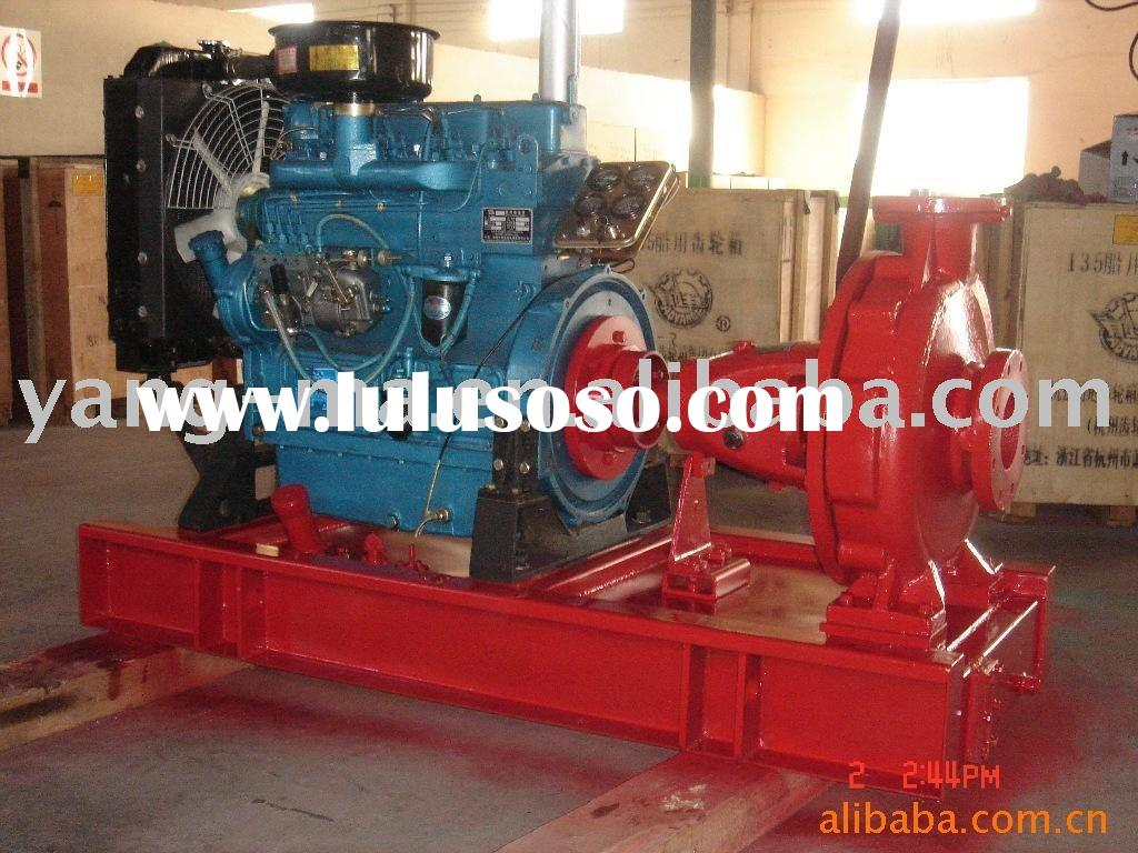 water cooled self-priming farm irrigation diesel fresh water pump