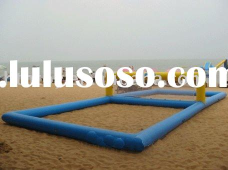 water park equipment inflatable water volleyball court water products