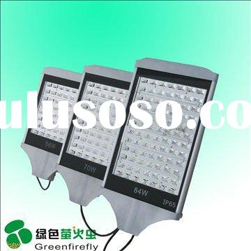 waterproof outdoor LED street luminaries 84w solar powered DC 12-24V