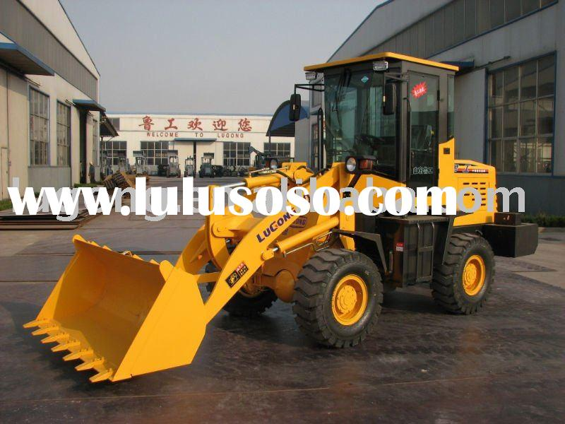 wheel loader ZL20A (earth moving equipment, earth moving machinery)
