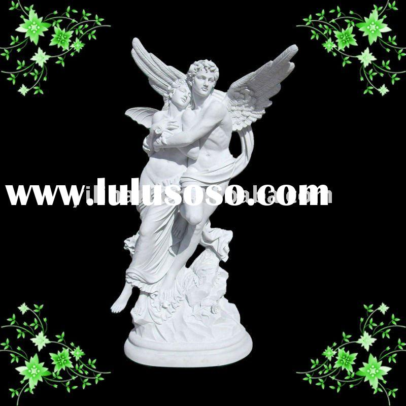 white marble angel statue for roman(YL-R138)
