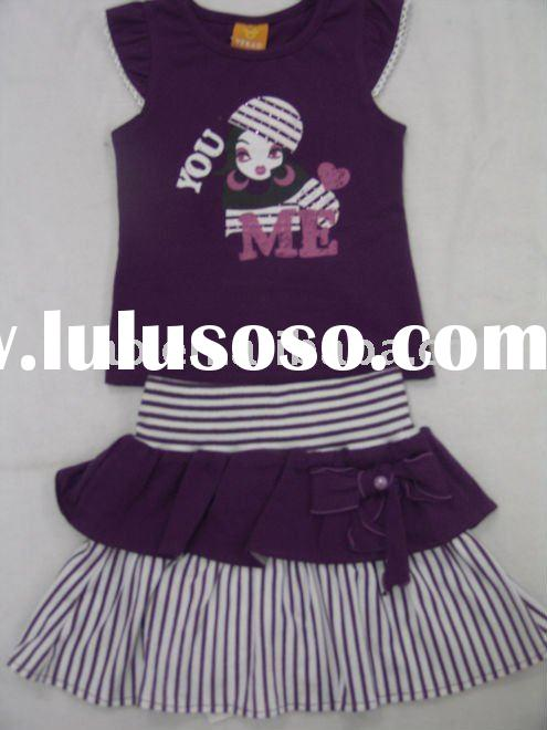 wholesale cotton girls dresses for summer 2011