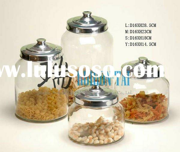 wholesale glass apothecary jars