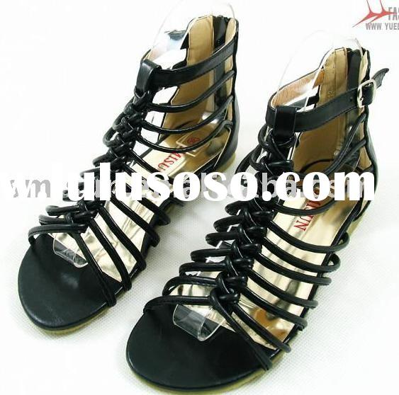 wholesale,women sandals,women shoes,PU,flat heel,Plantation sole,leisure,for young ladies