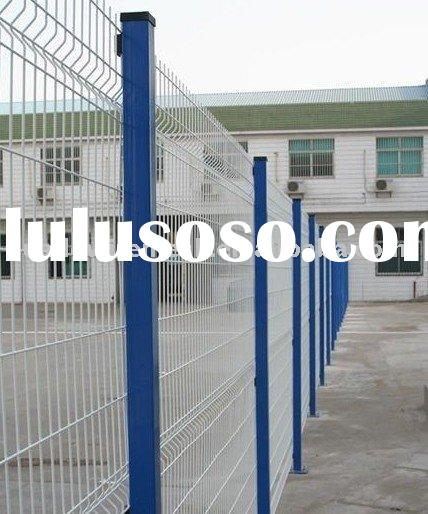 wire fencing, powder coated mesh panel , vinyl coated yard guard