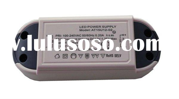 with UL,CE,FCC,GS certificate,700mA 15W power supplies for led driving