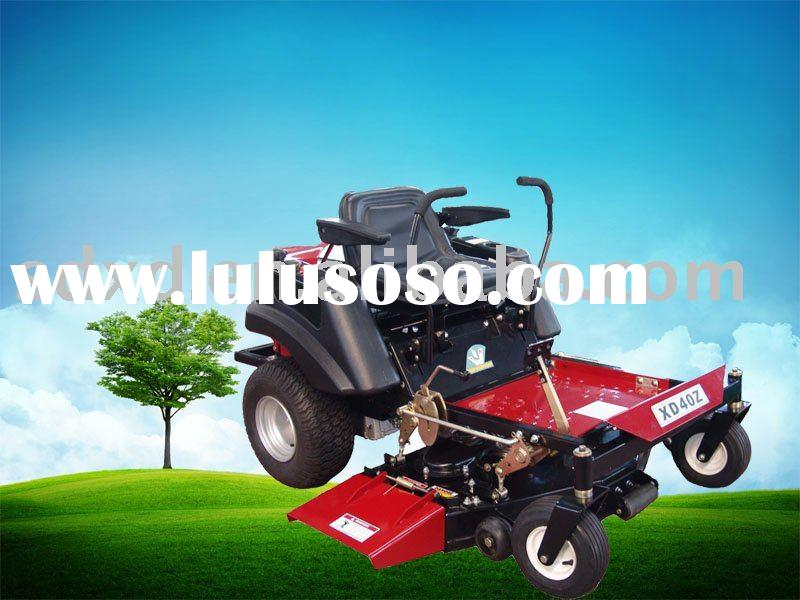 zero turn riding lawn mower