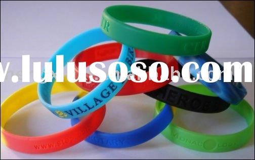100% SILICONE WRISTBAND (Embossed/Debossed)