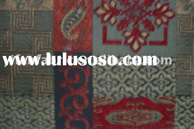 100%polyester woven jacquard chenille fabric for sofa