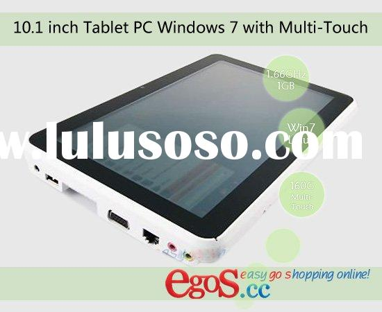 10.1 inch Tablet PC Windows 7 with Multi-Touch and Intel Atom CPU