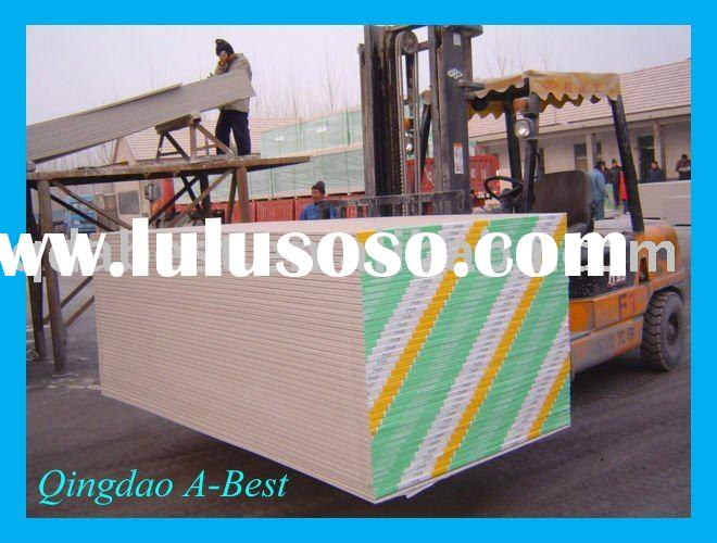1200x2400x7mm standard gypsum plaster board for drywall/partitions/ceiling
