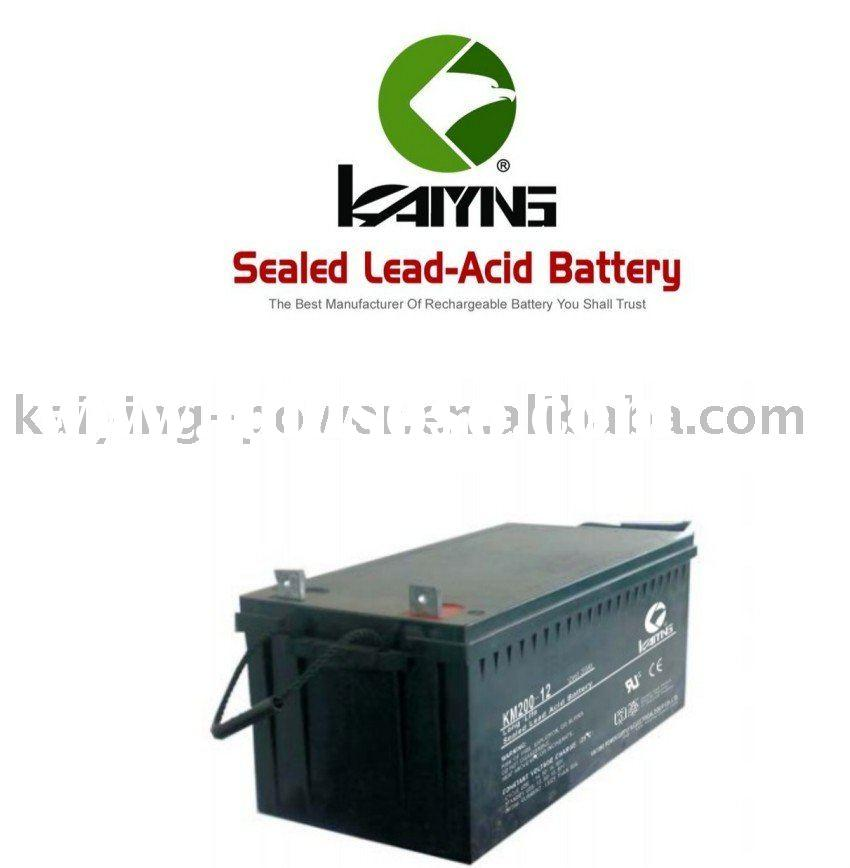 12v200AH lead acid deep cycle battery