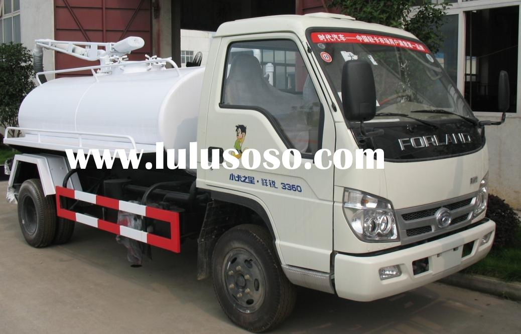 2000-3000L sewage suction truck,used sewage truck