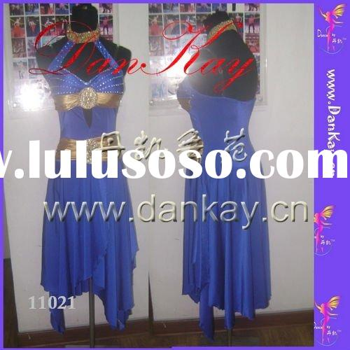 2011 Ballroom/Rumba/Salsa/Latin Dance Dress, Ladies' Dancewears, Dancing Costumes (11044)