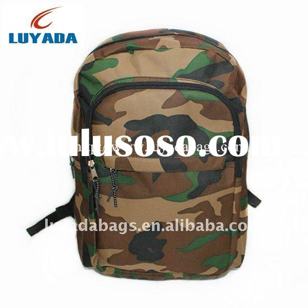 2011 Camouflage Heavy Duty Quilted Mesh Backpacks Designs