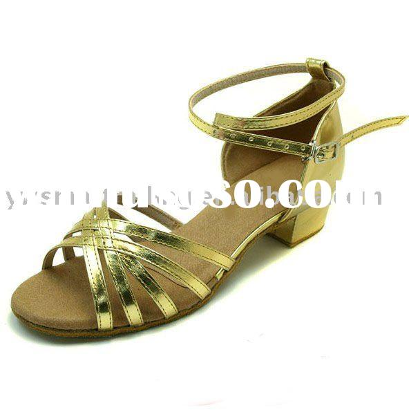 2011 Children Latin practice dancing shoes with latest design