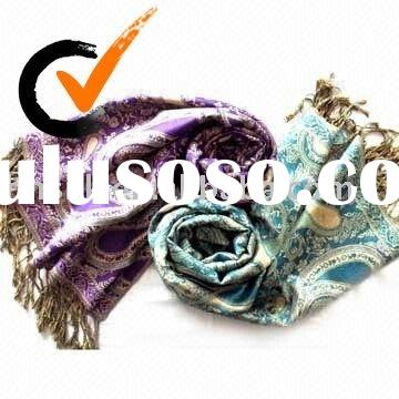 2011 FASHION SILK WOOL CASHMERE SHAWL