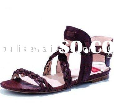 2011 New flat shoes ladies sandals