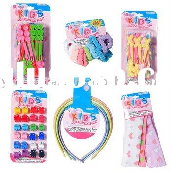 2011 fashion jewelery Kid's Hair Accessories set