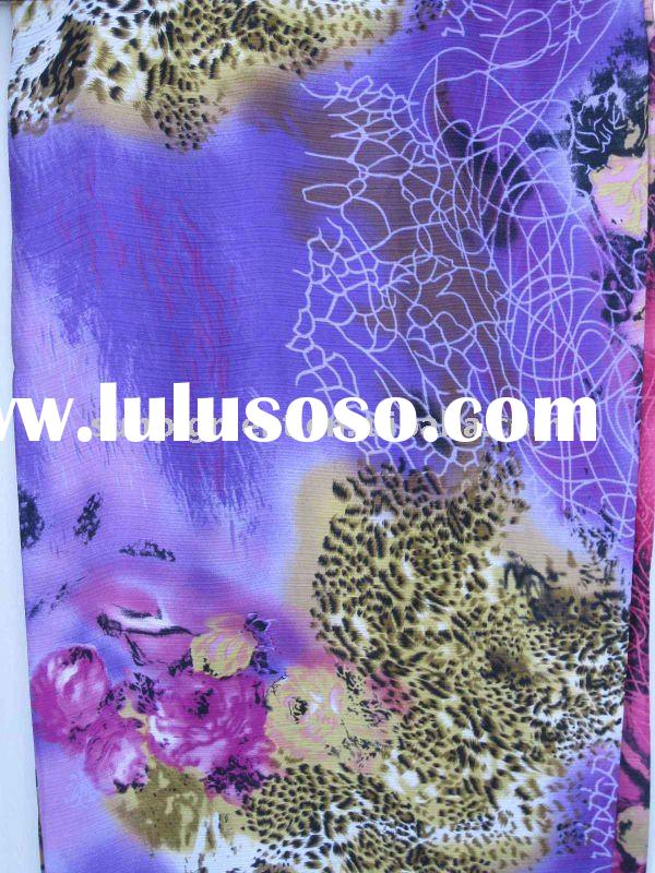 2011 purple 100% polyester fabric /satin yoryufabric/printed fabric
