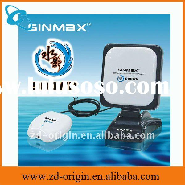 2011 update wifi adapter new arrival Sinmax 980WN automatic driver 30db RT3070chipset high power usb
