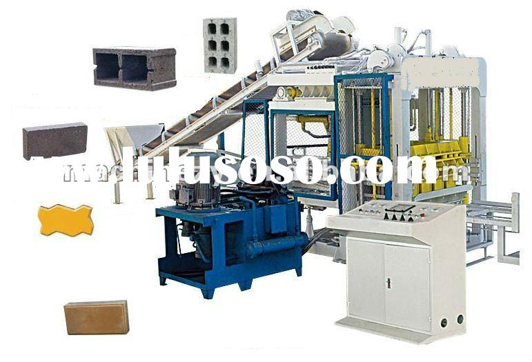 2012 High efficient cement block brick making machine
