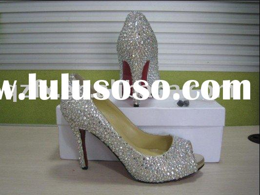 Bridal Shoes With Crystals images