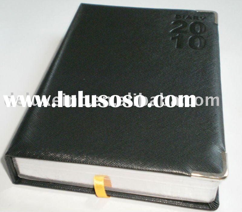 2012 dongguan pu leather dairy book cover