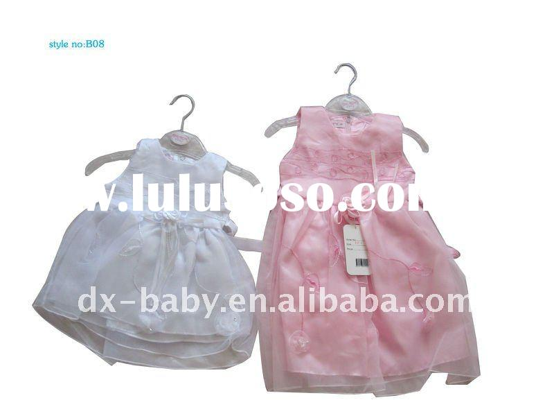 2012 fashion summer satin children party dresses