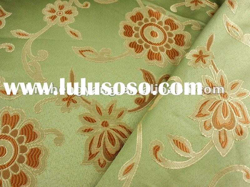 2012 fashionable 100% polyester jacquard fabric