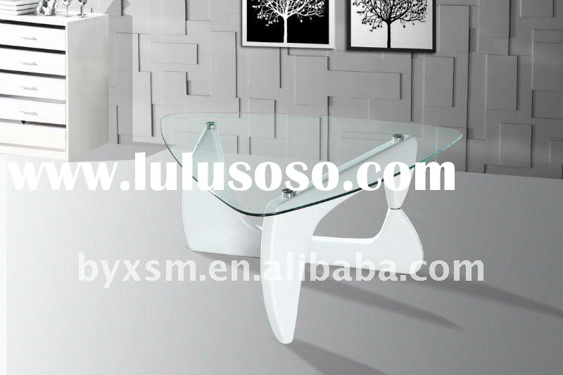 2012 new style square white coffee table