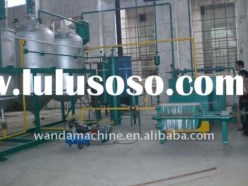 20-30Ton/day used rubber tyre turn to biodiesel processing equipments