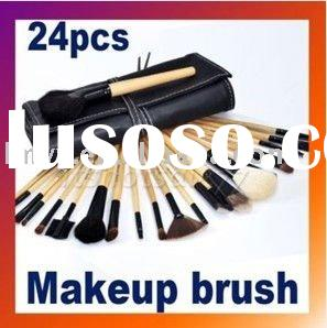 24 PCS Makeup Brush Cosmetic Brushes Set Kit With Case