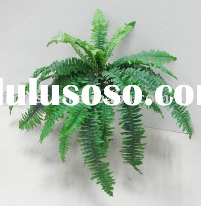"25""Lg.Boston Fern Bush artificial flower outdoor plants fake flower manmade flower silk flowers"