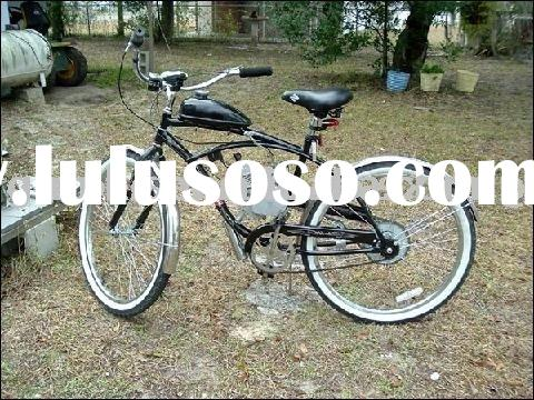"26"" CE export moto gas 50cc engine beach cruiser bicycle"