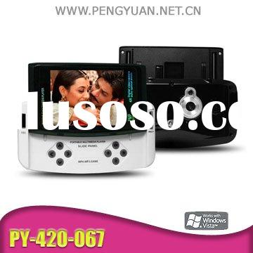 2.8inch MP4 player, 1.3MP cam, game player, with SD card extension PY-420-067