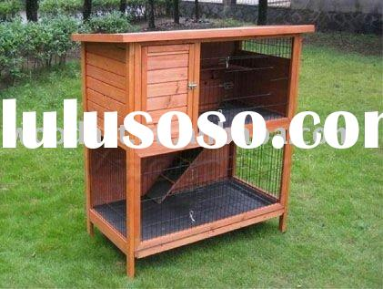 Wooden rabbit hutch wooden rabbit hutch manufacturers in for Outdoor rabbit hutch kits