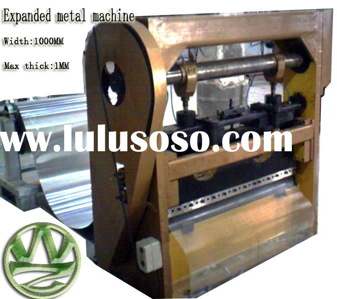 2mm expanded metal mesh machine