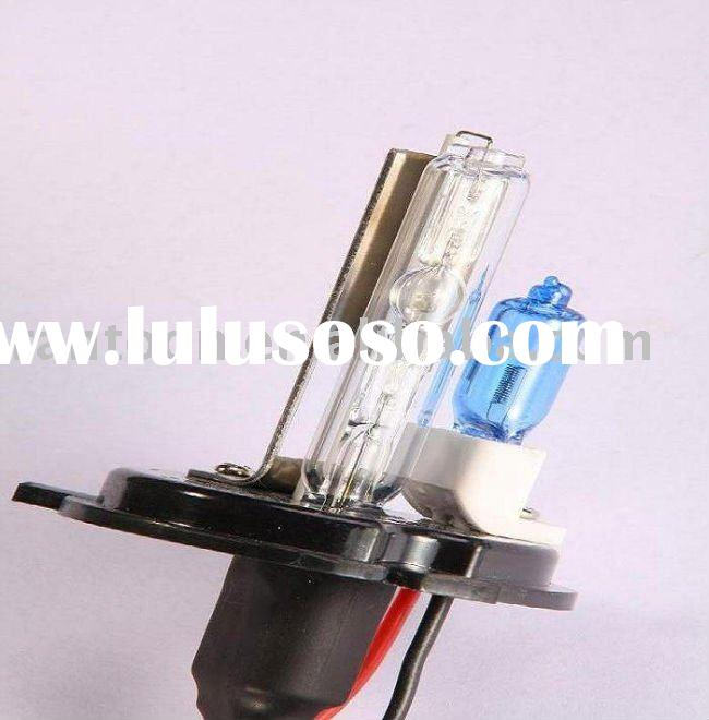 35W H4 X/H xenon bulbs for xenon kit with small super bright high beam halogen bulb