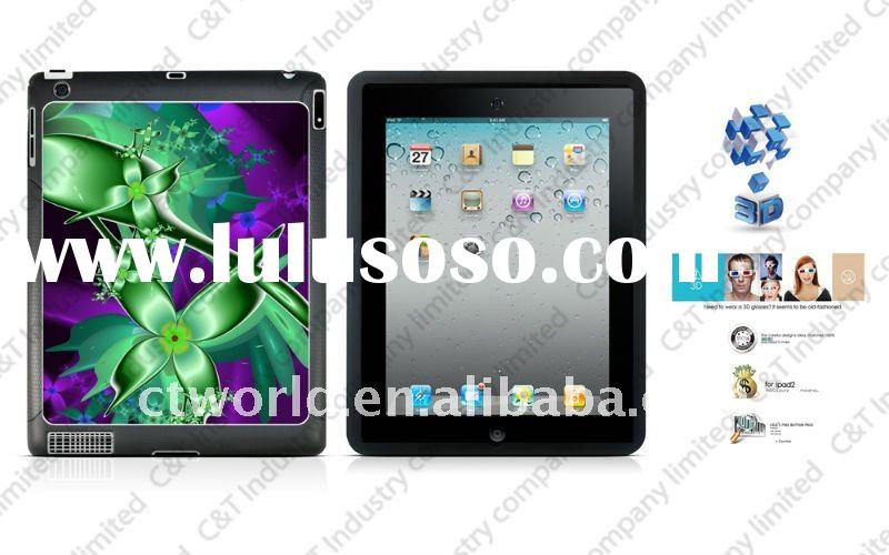 3D cover design for ipad2 cases